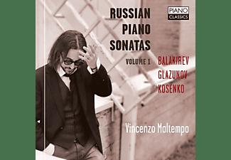 Vincenzo Maltempo - Russian Piano Sonatas Vol.1  - (CD)