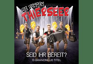 Die Jungen Thierseer - Seid ihr bereit  - (CD)