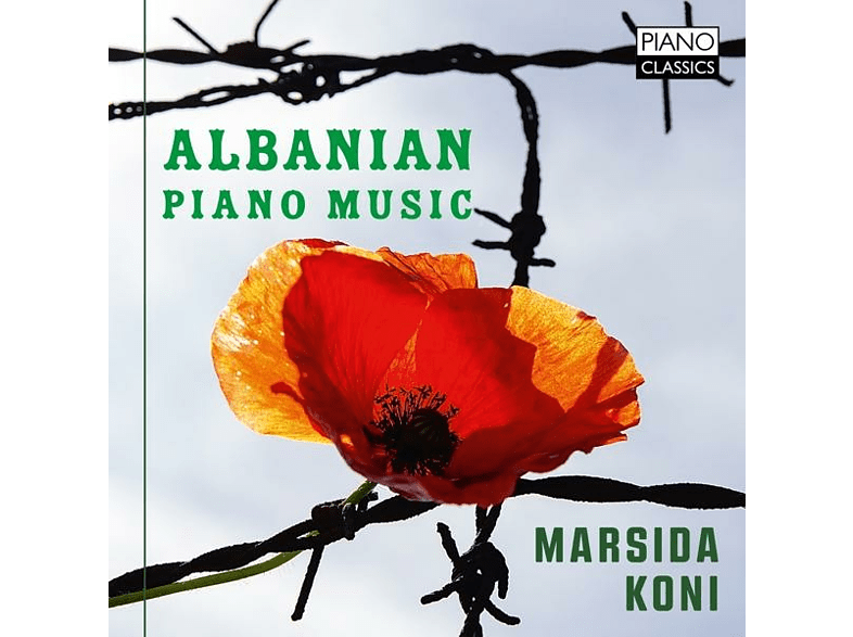 Marsida Koni - Albanian Piano Music [CD]