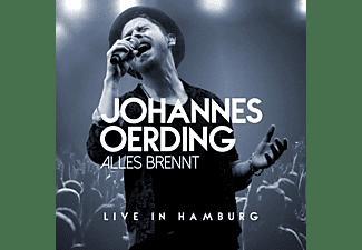 Johannes Oerding - Alles brennt-Live in Hamburg  - (CD)