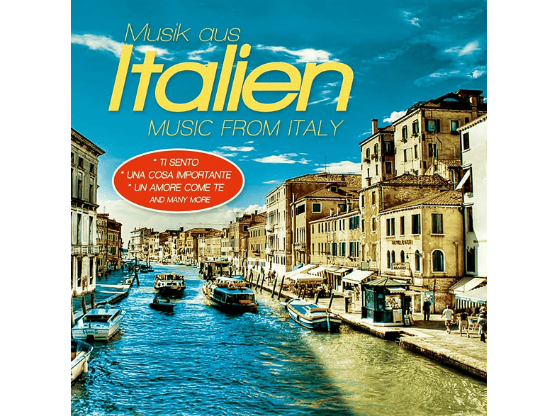 VARIOUS - Musik Aus Italien/Music From Italy [CD]