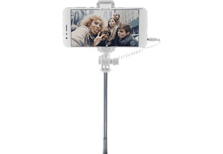 CELLULAR LINE Selfie Stick Total View mit drehbarem Spiegel, pink (SELFIESTICKVIEWP)
