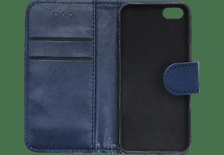 V-DESIGN V-2-1 035, Bookcover, Apple, iPhone 5, iPhone 5S, iPhone SE (2016), Blau