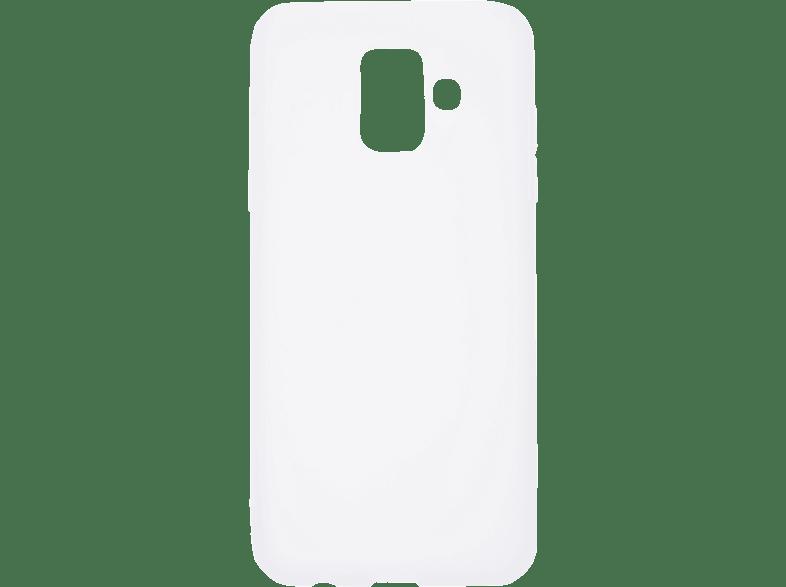 V-DESIGN VMT 256 , Backcover, Samsung, Galaxy A6 (2018), Thermoplastisches Polyurethan, Transparent