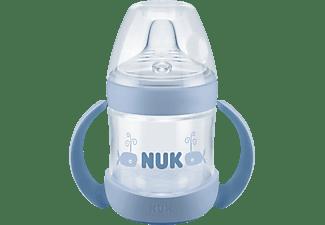 NUK Nature Sense Trinklernflasche Becher Blau