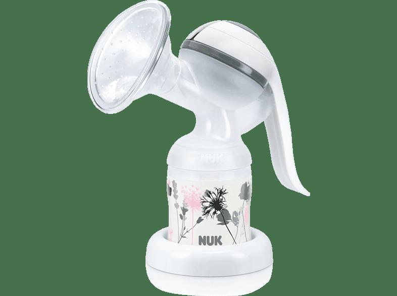 NUK JOLIE Milchpumpe Weiß