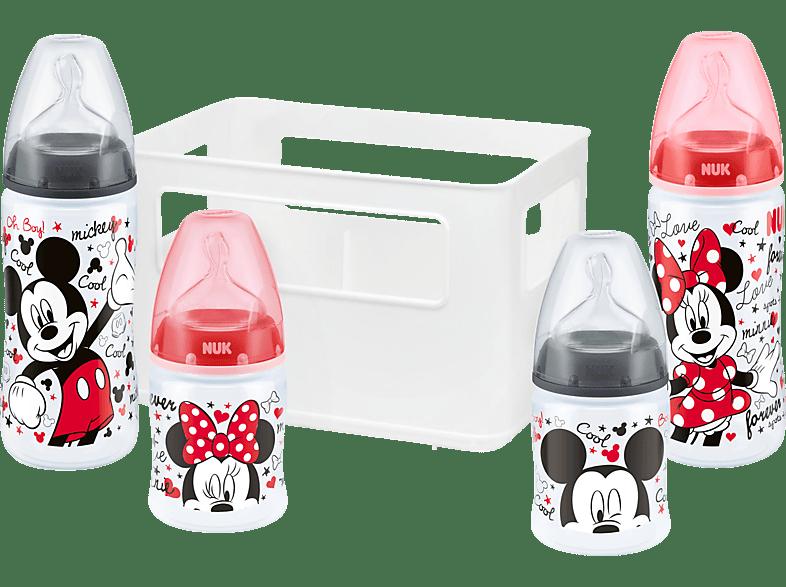 NUK 10225170 Disney Mickey Start Set Babyflasche Mehrfarbig