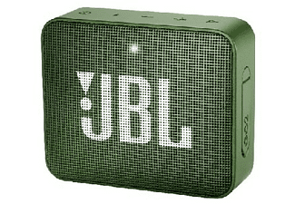 Altavoz inalámbrico - JBL GO 2 Green, 3 W, Bluetooth, IPX7, Micrófono, Verde