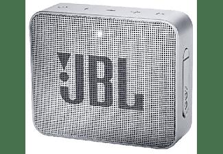 Altavoz inalámbrico - JBL GO 2 Grey, 3 W, Bluetooth, IPX7, Micrófono, Gris