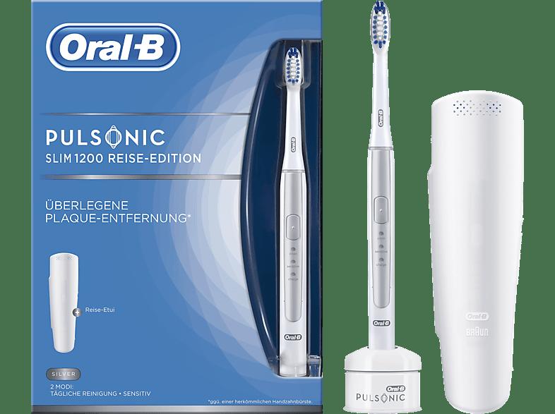 ORAL-B Pulsonic Slim 1200 elektrische Zahnbürste Silber