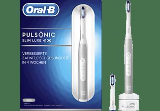ORAL-B Pulsonic Slim Luxe 4100 elektrische Zahnbürste Silber/Weiß