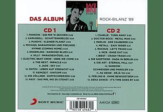 VARIOUS - Rock-Bilanz 1989  - (CD)