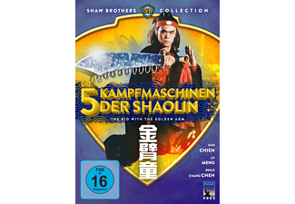 Die 5 Kampfmaschinen der Shaolin - The Kid With The Golden Arm - (DVD)