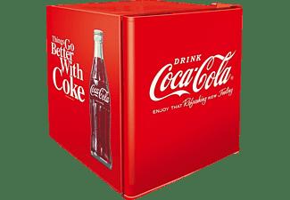 CUBES CC 164 COCA-COLA RETRO Kühlschrank (F, 525 mm hoch, Rot)