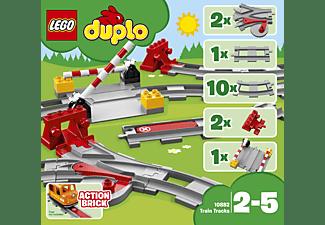 LEGO 10882 Eisenbahn Schienen Bausatz, Mehrfarbig