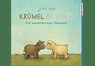 Judith Allert - Krümel und Fussel: Drei wunderborstige Abenteuer  - (CD)