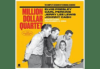 The Million Dollar Quartet - THE MILLION DOLLAR QUARTET  - (Vinyl)