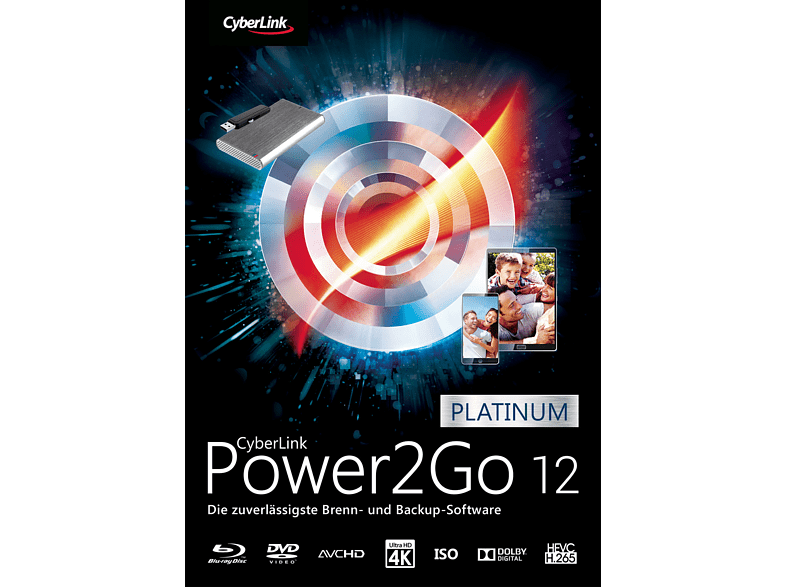 Cyberlink Power2Go 12 Platinum