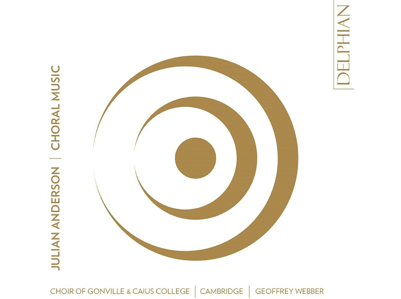 Choir Of Gonville & Caius College, Geoffrey Webber - Choral Music [CD]