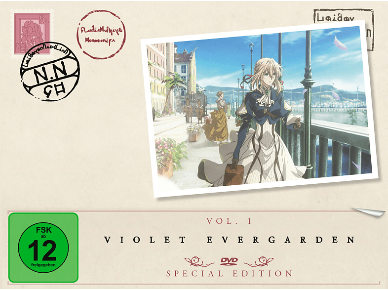Violet Evergarden - Staffel 1 - Vol. 1 [DVD]