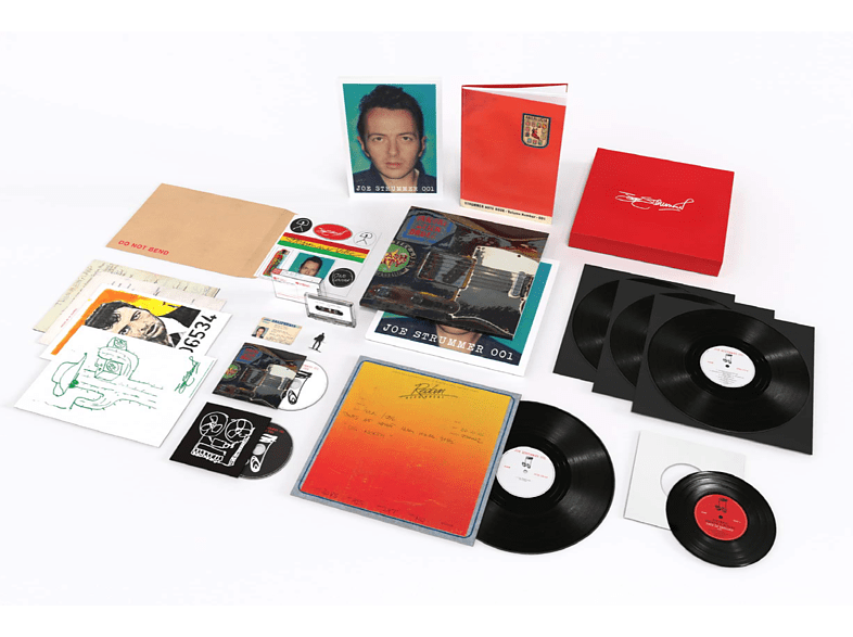 Joe Strummer - Joe Strummer 001 (Super Deluxe Box) [LP + Buch]