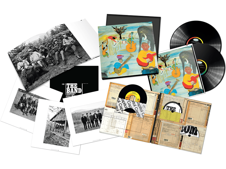 The Band - MUSIC FROM BIG PINK 50th ANNIVERSARY EDITION Super Deluxe [CD + Blu-ray Audio]