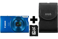 CANON IXUS 190 Kit Digitalkamera Blau, 20.0 Megapixel, 10fach opt. Zoom, LCD (TFT), WLAN