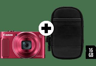 CANON Powershot SX620 HS Digitalkamera Rot, 25x opt. Zoom, TFT, WLAN