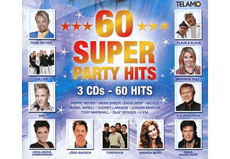 VARIOUS - 60 Super Party-Hits - (CD)