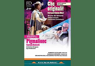Simone/Amaru/Capuano/OTSM - Che Original!/Pigmalione  - (DVD)