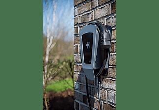 HEIDELBERG WALLBOX HOME ECO 5 M Ladestation für Elektrofahrzeuge, Silbergrau Metallic