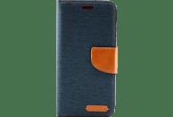 AGM 27224 Fashion , Bookcover, Samsung, Galaxy S9+, Obermaterial Stoff, Marine Blau