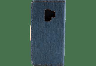 AGM 27223, Bookcover, Samsung, Galaxy S9, Marine Blau