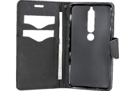 AGM 27231 Bookcover Nokia 6.1 Obermaterial Kunststoff / Thermoplastisches Polyurethan ( TPU) Schwarz
