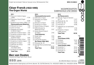Ben Van Oosten - Das Orgelwerk  - (CD)