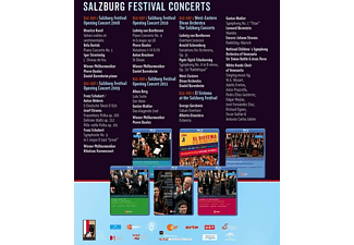 Barenboim/Harnoncourt/Rattle/Boulez - Salzburg Festival Concerts  - (Blu-ray)