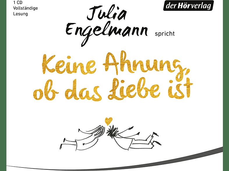 Julia Engelmann - Keine Ahnung,Ob Das Liebe Ist - (CD)