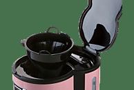 DOMO DO477K Kaffeemaschine Rosa