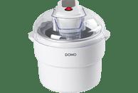 DOMO DO2309I Eismaschine (12 Watt, Weiß)