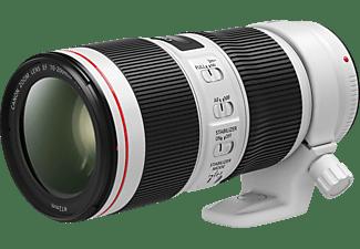 CANON EF 70-200 mm f/4L IS II USM 70 mm - 200 mm f/4 EF, L-Reihe, IS II, USM (Objektiv für Canon EF-Mount, Weiss)