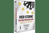 Vier Sterne - Die Weltmeister-Box - 1954 1974 1990 2014 [DVD]