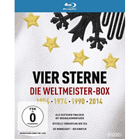 Vier Sterne - Die Weltmeister-Box - 1954 1974 1990 2014  [Blu-ray]