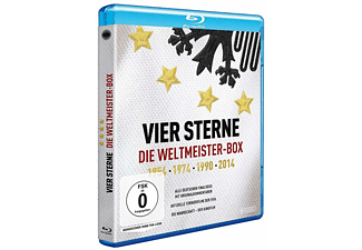 Vier Sterne - Die Weltmeister-Box - 1954 1974 1990 2014  Blu-ray