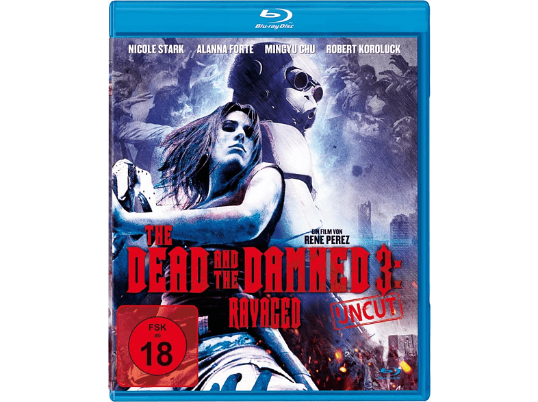 The Dead and the Damned 3: Ravaged [Blu-ray]