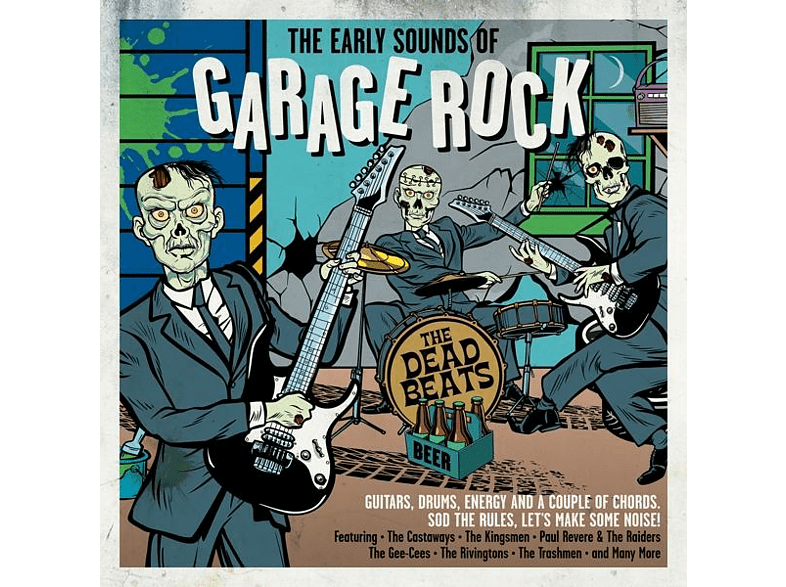 VARIOUS - Early Sounds Of Garage Rock [CD]