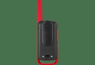 MOTOROLA TLKR T62 Walkie-Talkie Rot/Schwarz