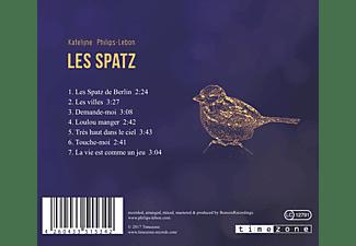 Katelijne Philips-lebon - Les Spatz  - (CD)
