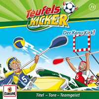 Teufelskicker - Teufelskicker - 073 / Der Kanu-Kick!  - (CD)