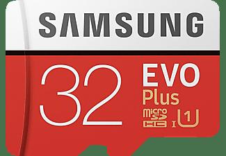 SAMSUNG Evo Plus, Mini-SDHC Micro-SDHC Speicherkarte, 32 GB, 95 MB/s