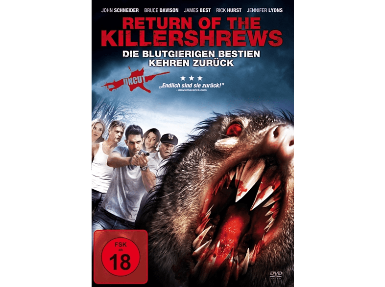 Return Of The Killershrews [DVD]